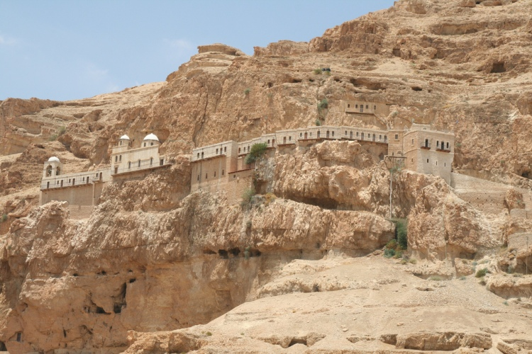 Jericho-Monastery-on-the-Mount-of-Temptations